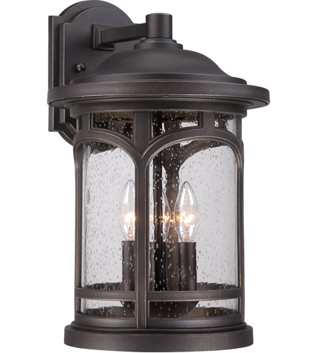 Quoizel MBH8411PN Marblehead 3 Light 18 inch Palladian Bronze Outdoor Wall photo