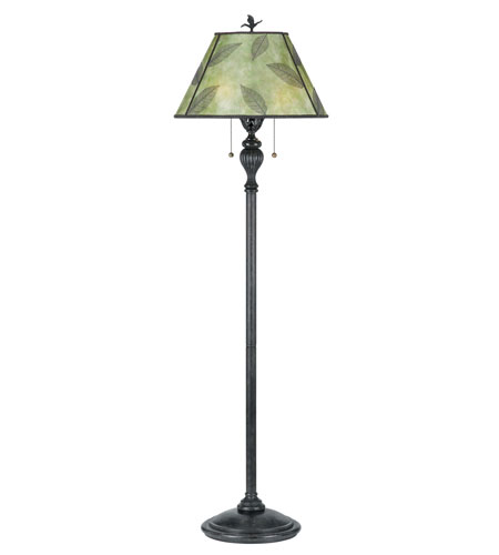 Quoizel Lighting Mica 2 Light Floor Lamp in Bronze MC410F photo