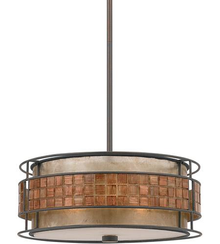 Quoizel Lighting Laguna 3 Light Pendant in Renaissance Copper MC842CRC photo