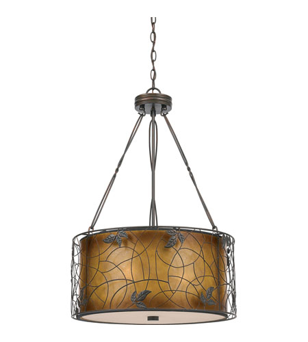 Quoizel Lighting Mica 3 Light Pendant in Renaissance Copper MC844CRC photo