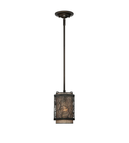 Quoizel Lighting Daly 1 Light Mini Pendant in Palladian Bronze MCDL1506PN photo