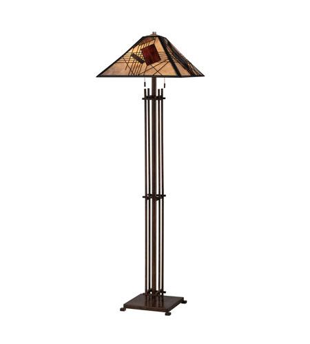 Quoizel Lighting Russell 2 Light Floor Lamp in Hazel Bronze MCRU1200HA photo