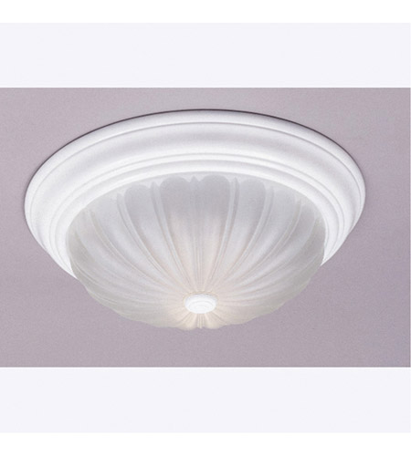 Quoizel ML182WUL Melon 1 Light 11 inch Fresco Flush Mount Ceiling Light photo