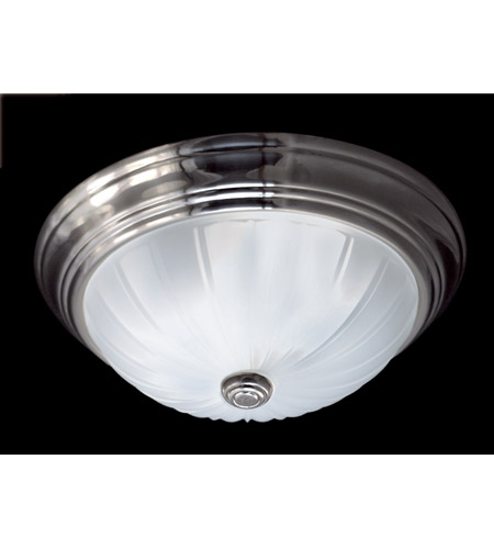 Quoizel ML183ES Melon 13 inch Empire Silver Flush Mount Ceiling Light in 0 photo