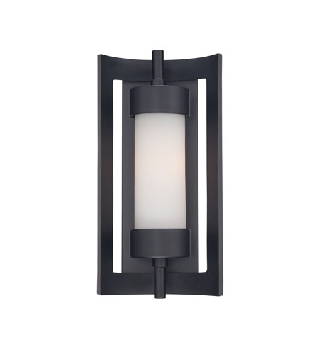 Quoizel MLN8307K Milan 1 Light 14 inch Mystic Black Outdoor Wall Lantern in Standard photo