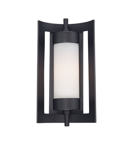 Quoizel Lighting Milan 1 Light Outdoor Wall Lantern in Mystic Black MLN8309K photo