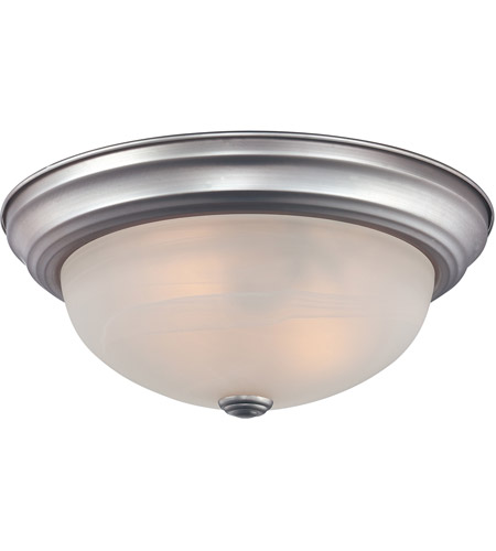 Quoizel MNR1611BN Manor 1 Light 11 inch Brushed Nickel Semi-Flush Mount Ceiling Light photo