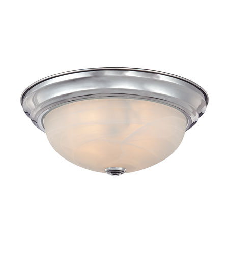 Quoizel Lighting Manor 2 Light Semi-Flush Mount in Polished Chrome MNR1613C photo