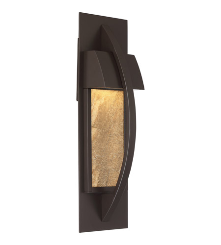 Quoizel MNT8405WT Monument 6 inch Western Bronze ADA Wall Lantern Wall Light in LED AC 120V photo