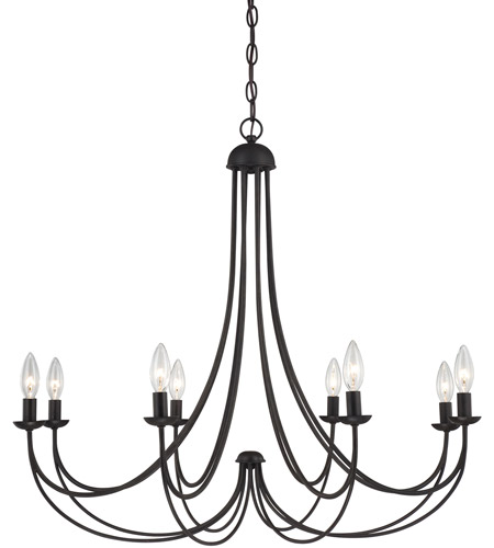 Quoizel Mirren 8 Light Chandelier in Imperial Bronze MRN5008IB photo