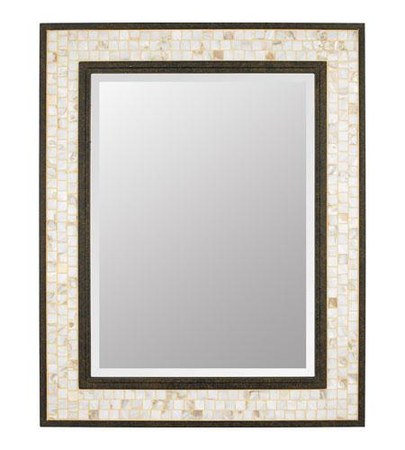 Quoizel MYML Monterey Mosaic X Inch Malaga Wall Mirror - Quoizel bathroom mirrors