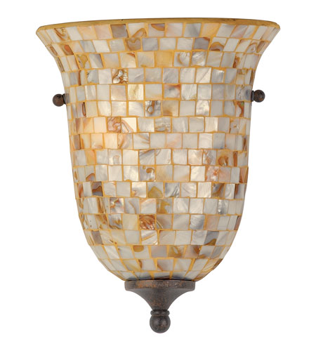 Quoizel Lighting Monterey Mosaic 2 Light Wall Sconce in Malaga MY8801ML photo
