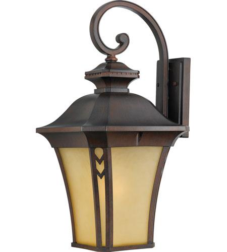 Quoizel Lighting Norfolk 1 Light Outdoor Wall Lantern in Terra Bronze NF8412TB photo
