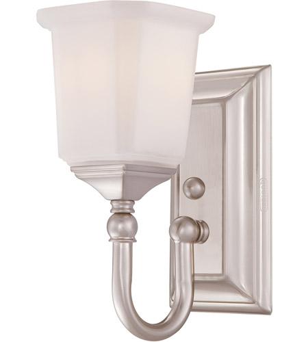 Quoizel NL8601BN Nicholas 1 Light 7 Inch Brushed Nickel Bath Light Wall  Light