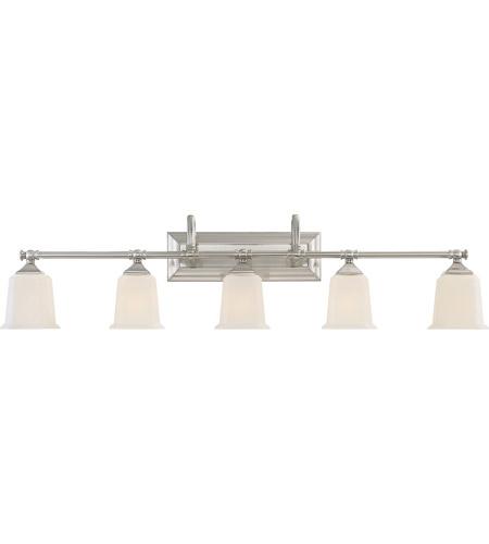 Quoizel NLBN Nicholas Light Inch Brushed Nickel Bath Light - Satin nickel bathroom lights