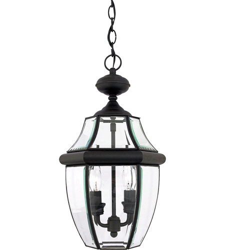 Quoizel NY1178K Newbury 2 Light 10 inch Mystic Black Outdoor Hanging Lantern photo