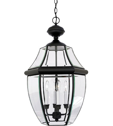 quoizel ny1180k newbury 4 light 16 inch mystic black outdoor hanging