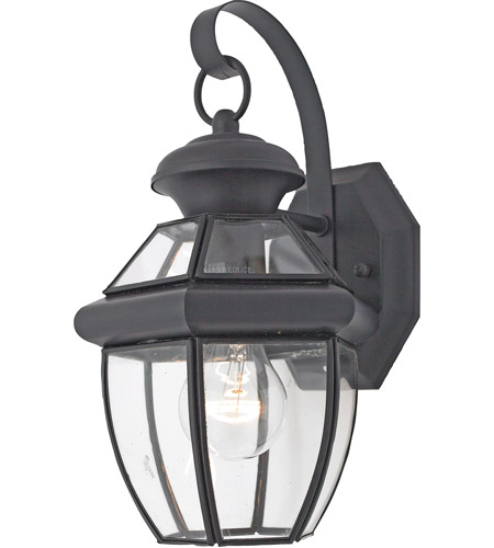 Quoizel NY8315K Newbury 1 Light 13 inch Mystic Black Outdoor Wall Lantern in Standard photo