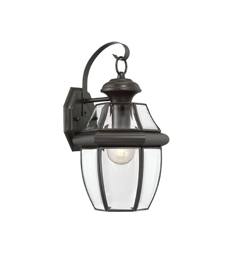 Quoizel Lighting Newbury 1 Light Outdoor Wall Lantern in Medici Bronze NY8316Z photo