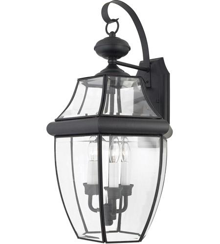 quoizel lighting newbury 3 light outdoor wall lantern in mystic