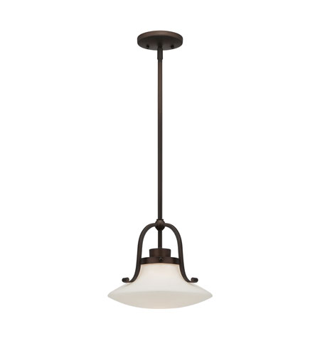 Quoizel Lighting Olympia 1 Light Mini Pendant in Palladian Bronze OA1512PN photo