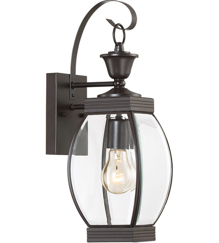 Quoizel OAS8406Z Oasis 1 Light 17 inch Medici Bronze Outdoor Wall Lantern in Standard photo