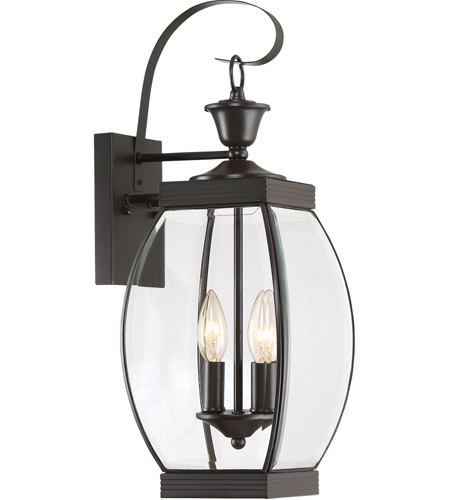 Quoizel OAS8408Z Oasis 2 Light 21 inch Medici Bronze Outdoor Wall Lantern photo