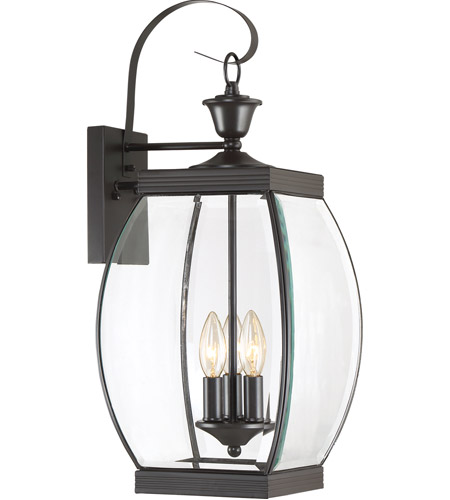 Quoizel OAS8409Z Oasis 3 Light 23 inch Medici Bronze Outdoor Wall Lantern photo
