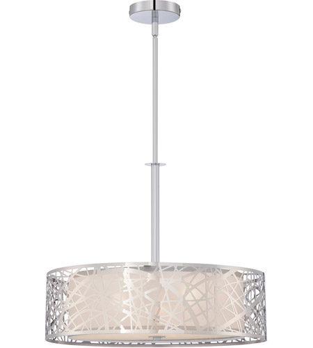 Quoizel pcae2820c platinum 3 light 20 inch polished chrome pendant ceiling light photo