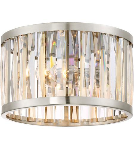 Quoizel pcbl1614bn platinum ballet 2 light 13 inch brushed nickel flush mount ceiling light