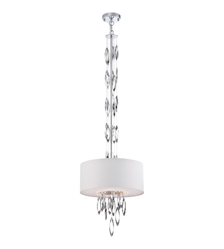 Quoizel Platinum Cascade 3 Light Pendant in Polished