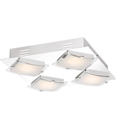Platinum Emporium Led 11 Inch Polished Chrome Flush Mount Ceiling Light