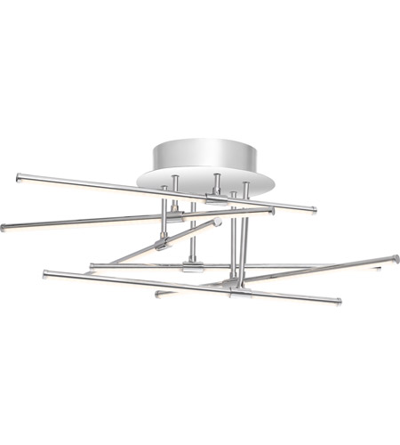 Quoizel PCLS1722C Platinum Lightshow LED 22 inch Polished Chrome Semi-Flush Mount Ceiling Light photo
