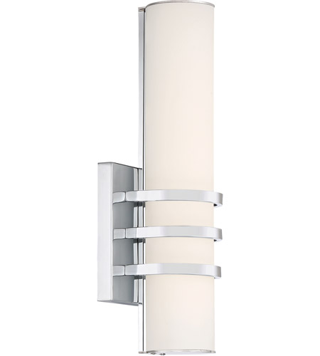 Quoizel PCTY8505C Platinum Trinity LED 5 inch Polished Chrome Wall Sconce Wall Light  sc 1 st  Quoizel Lighting Lights & Quoizel PCTY8505C Platinum Trinity LED 5 inch Polished Chrome Wall ...