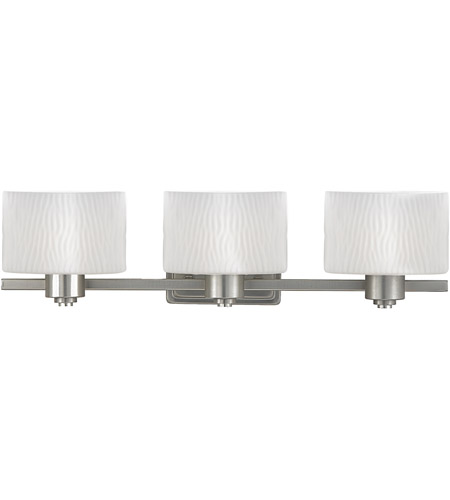 Quoizel Pacifica 3 Light Bath Light in Empire Silver PF8603ES photo