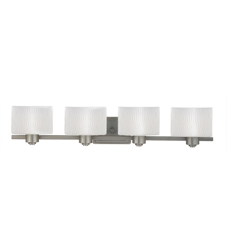 Quoizel PF8604ES Pacifica 4 Light 34 inch Empire Silver Bath Light Wall Light photo