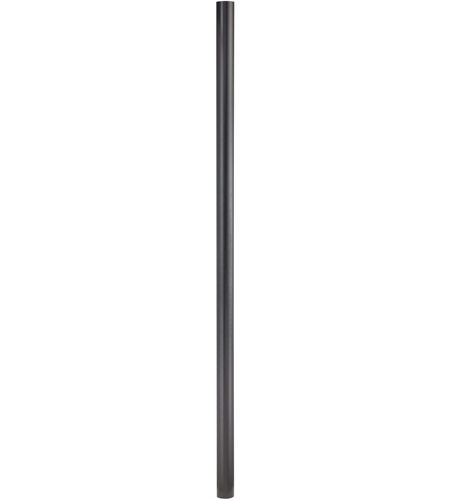 Quoizel PO9120K Mounting Post 84 inch Mystic Black Pier and Post Accessory photo
