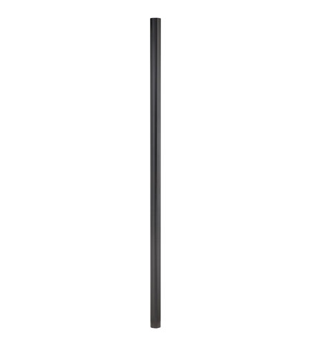 Quoizel PO9130K Mounting Post 84 inch Mystic Black Pier and Post Accessory photo