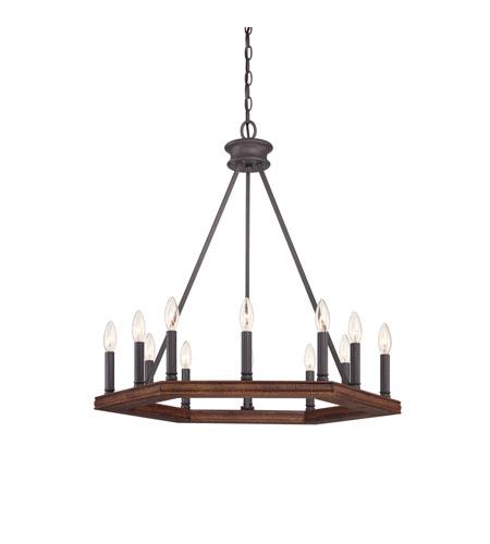 Quoizel Foyer Chandelier : Quoizel plantation light foyer chandelier in darkest