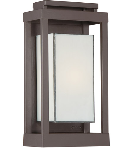 Quoizel PWL8307WT Powell 1 Light 14 inch Western Bronze Outdoor Wall Lantern photo
