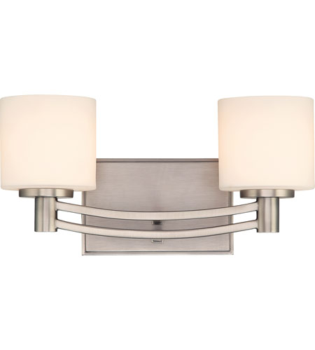 Quoizel perry 2 light bath light in antique nickel py8602an for Z gallerie bathroom lights
