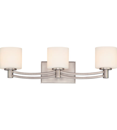 Quoizel Perry 3 Light Bath Light in Antique Nickel PY8603AN photo