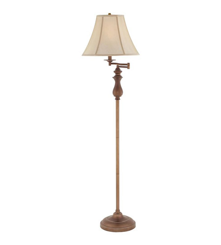 signature 61 inch 100 watt palladian bronze floor lamp portable light. Black Bedroom Furniture Sets. Home Design Ideas