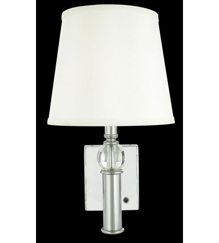 Quoizel lighting portable lamp 1 light portable wall lights in quoizel lighting portable lamp 1 light portable wall lights in polished chrome q1068c aloadofball Image collections
