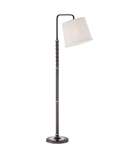 Quoizel Lighting Signature 1 Light Floor Lamp in Palladian Bronze Q1501FPN photo