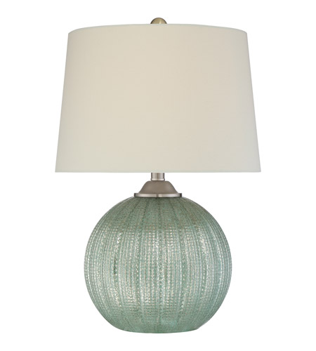 Signature 23 inch 100 watt green table lamp portable light for 100 watt table lamps