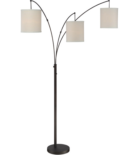 Quoizel Q2605FOI Signature 90 inch 60 watt Oil Rubbed Bronze Floor Lamp Portable Light photo