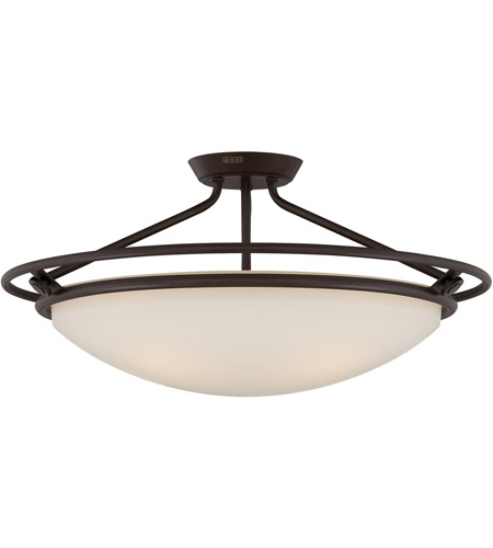 Quoizel qf1201swt signature 4 light 25 inch western bronze semi quoizel qf1201swt signature 4 light 25 inch western bronze semi flush mount ceiling light aloadofball Gallery