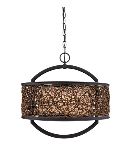 Quoizel Lighting Signature 2 Light Pendant in Serengeti QF1216CSN photo
