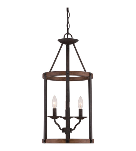 Quoizel Foyer Chandelier : Quoizel qf rk signature light inch rustic black